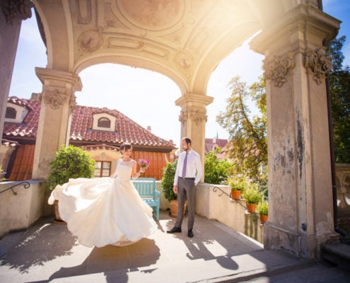 Wedding in the Old Town Hall