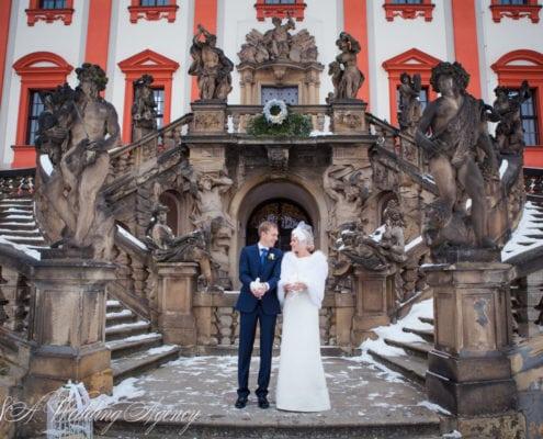Svatba v Trojském zámku