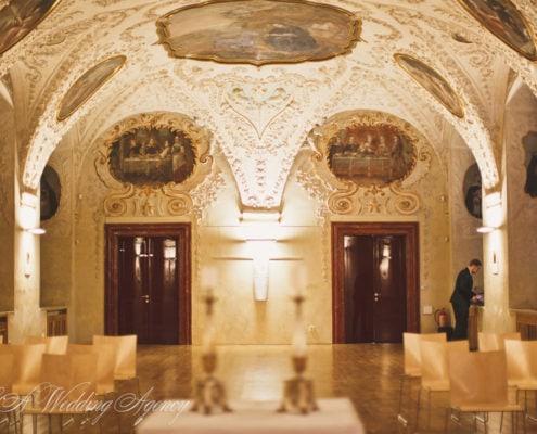 Barokní Refektář Praha Catering