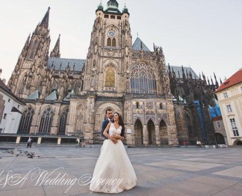 Wedding in the Dobris Castle