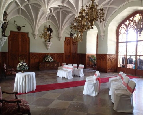 Wedding in the Lednice Castle